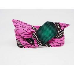 Bandeau Headband Rose Vert